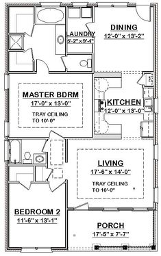 Details zu Custom Small House Home Blueprints 1406 sf --- PDF D . Details zu Custom Small House Home Blueprints 1406 sf --- PDF D . Guest House Plans, 2 Bedroom House Plans, Small House Floor Plans, Cabin Plans, Home Decor Bedroom, Simple Floor Plans, Murphy Bed Plans, Tiny House Cabin, Apartment Plans
