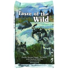 Taste of the Wild Pacific Stream Puppy 13.0 kg Taste of the wild http://www.amazon.de/dp/B006BU77A4/?m=A1PA6795UKMFR9