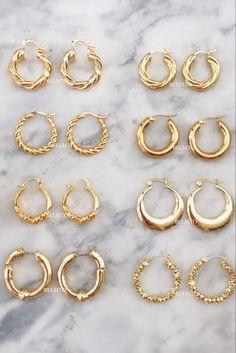 Ear Jewelry, Cute Jewelry, Jewelery, Jewelry Accessories, Jewelry Design, Jewellery Earrings, Trendy Accessories, Diamond Jewellery, Ring Earrings