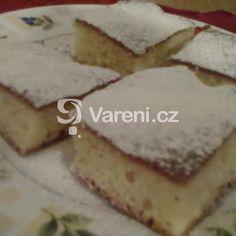 Hrnkový recept na jemný koláč s ovocem. Rychlý a chuťově jemňoučký moučník. Feta, Cheesecake, Dairy, Pie, Torte, Cake, Cheesecakes, Fruit Cakes, Pies