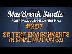 New MacBreak Studio episode - 3D Text Environments in Apple Motion! http://www.motionvfx.com/B4046  #macbreak #mac #apple #motion #tutorial