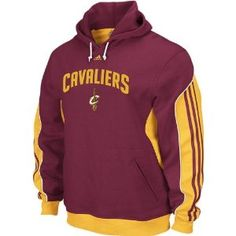 60afe73785a33 Adidas Cleveland Cavaliers Burgundy The Dunk Hooded Sweatshirt (L 44).  Licensed Cavs