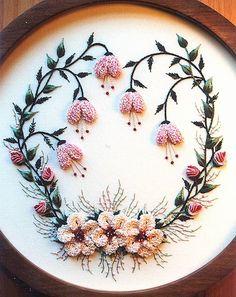 Lindas flores con botón