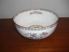 """Wedgwood Kutani Crane Serving Bowl, 8"""" x 3-3/4"""" h. $39.00 at paris421 on ebay, 11/11/15"""