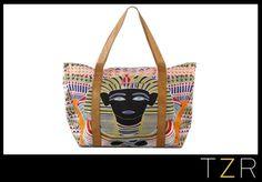 Mara Hoffman Printed King Tut Bag-via The Zoe Report