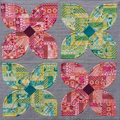 "grumpystitches: "" Spring Fling Quilt by Sew Kind of Wonderful on Flickr. """