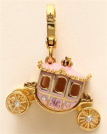Juicy Couture princess carriage charm- For when I finally go to Disney world!