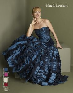 Macis Couture Dress 3983