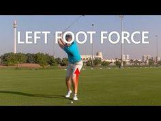 LEFT LEG FORCE IN A GOLF SWING - YouTube