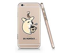 Amazon.com: Oh Monday Cute Dog Slim Iphone 6 6s Case, Clear Iphone Hard Cover Case For Apple Iphone 6 6s Emerishop (VAE243.6sl): Cell Phones & Accessories