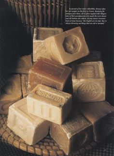 "input-image: "" French milled soap and a big soft sea sponge make my bathtub a destination location. """