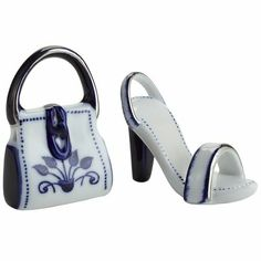 Shoe & Handbag Porcelain Collectibles