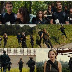 New Allegiant Pics! Divergent Film, Divergent Fandom, Divergent Funny, Tris And Tobias, Tris And Four, Divergent Insurgent Allegiant, Veronica Roth, Theo James, The Fault In Our Stars