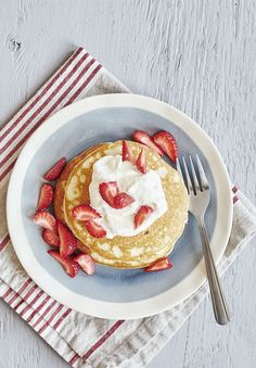 """I strongly believe that pancakes are the greatest """"anytime"""" food — they shouldn't be reserved strictly for breakfast or brunch because they also make a filling lunch or dinner or snack. Basically anytime is the right time for pancakes, except when you don't have time to cook a whole batch — or don't need to."""