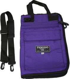 Humes and Berg Tuxedo Pro Mallet Bag Purple Color TX8005P #HumesandBerg