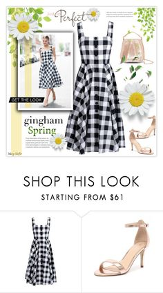 """""""Just So perfect Gingham: Get the Look"""" by mcheffer ❤ liked on Polyvore featuring Dolce&Gabbana, Verali, Eddie Borgo and gingham"""