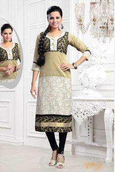 http://www.mangaldeep.co.in/latest-kurties/miraculous-cream-and-beige-ready-made-party-wear-kurti-5361 For further inquiry whatsapp or call at +919377222211