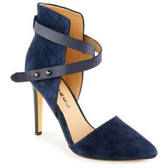 MICHAEL Pointy Toe Pump in Navy $69.99 (Compare at $139.00) #OBSWishList
