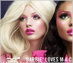 MAC Cosmetics Barbie Loves MAC Collection Information & Photos