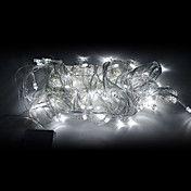 10M 100-LED White Light LED Joulukoristeita S... – EUR € 8.63 Tai joku muu patterilla toimiva ikkunaan laitettava joulukoriste Led Decoration, Gadget, Lumiere Led, Led String Lights, White Light, Christmas Decorations, Stuff To Buy, Lighting, Gadgets