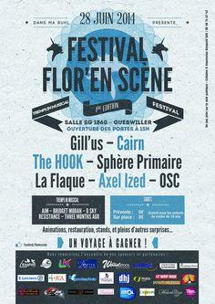 Festival Flor en Scène. Le samedi 28 juin 2014 à guebwiller.  15H00