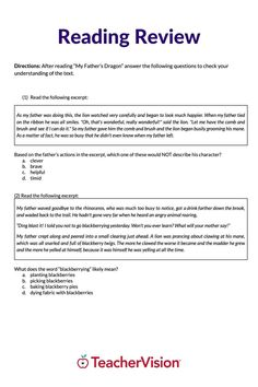 This elementary reading pre-assessment for back to school is designed to help you benchmark reading assessment levels for grades 3 through 5 and plan for intervention and remediation of learning gaps resulting from remote, hybrid, and quarantine instruction, or summer learning loss. Reading Resources, School Resources, Reading Skills, Reading Passages, Reading Comprehension, New School Year, Back To School, My Fathers Dragon, Reading Assessment