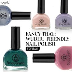 Is this water-based and non-toxic label the ultimate halal nail polish?