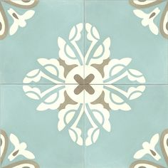 Belle 8 x 8 Cement Tile Tiles For Sale, Moraira, Colored Ceiling, Bathroom Floor Tiles, Kitchen Backsplash, Wall Tiles, Mosaic Tiles, Encaustic Tile, Concrete Tiles