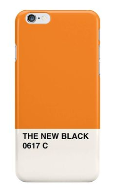 Our Orange is the New Black Pantone Phone Case is available online now for just £5.99.    Fan of Orange is the new Black? You'll love our Orange is the New Black Pantone phone case, available for iPhone, iPod & Samsung models.    Material: Plastic, Production Method: Printed, Authenticity: Unofficial, Weight: 28g, Thickness: 12mm, Colour Sides: Clear, Compatible With: iPhone 4/4s | iPhone 5/5s/SE | iPhone 5c | iPhone 6/6s | iPhone 7 | iPod 4th/5th Generation | Galaxy S4 | Galaxy S5 | Galaxy