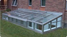 Pit Greenhouses | Glass Roof Greenhouses | Solar Innovations