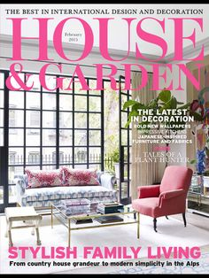 House And Garden February 2015 Magazine By Conde Nast Publications Ltd