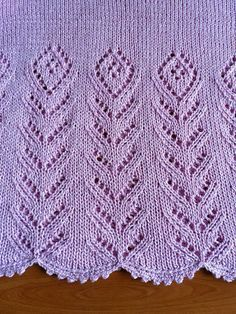 Lace Knitting Pattern Another Old S - Diy Crafts - maallure Lace Knitting Patterns, Knitting Stiches, Knitting Charts, Knitting Designs, Free Knitting, Knitting Projects, Baby Knitting, Stitch Patterns, Beginner Knitting