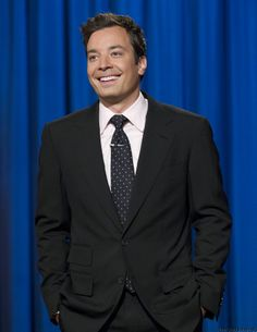Jimmy Fallon, The newest tonight show host as of tomorrow! Beautiful Men, Beautiful People, Tonight Show, Saturday Night Live, Jimmy Fallon, Good Looking Men, Man Humor, Celebrity Crush, Comedians