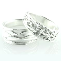 Silver Art Clay rings made at The Shop Shop