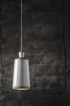 Raw clay pendant lamp CIOCCO by ILIDE italian light design design Daniele Gualeni