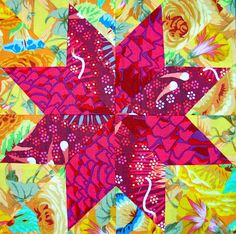 From Canton Village Quiltworks, using Deb Hunter's method.