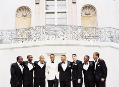 Black and White Wedding by Jonathan Canlas - Southern Weddings Magazine