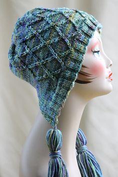 Ravelry: Iris Bloom Bonnet pattern by Gretchen Tracy