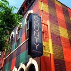 Best restaurant exterior color in ages: Check Out the Paint Job at County Barbecue