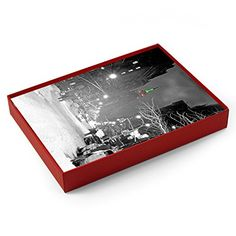 New York Christmas Holiday Card Empire State Christmas Boxed 12 Pack of 5x7 Cards  Envelopes Included >>> Check out this great product. (This is an affiliate link)