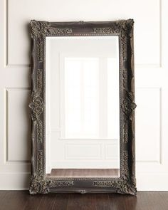 """""""Antique+French""""+Floor+Mirror+at+Horchow."""