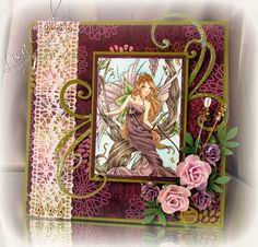 Lovely in Lilac by busysewin - Cards and Paper Crafts at Splitcoaststampers