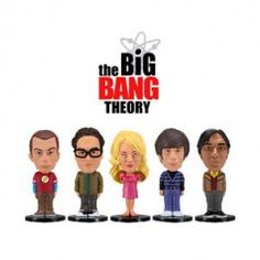 Mini Bonecos - The Big Bang Theory