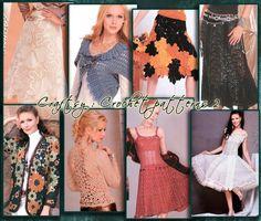 (4) Name: 'Crocheting : Crochet FreeForm and  Irish lace 542