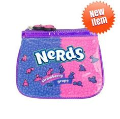 Change it up with the Nerds Candy Coin Purse! Fun, functional and durable, this pink Novelty Items, Novelty Gifts, Nerds Candy, Giant Candy, Sour Patch Kids, Sugar Candy, Nerd Herd, Best Candy, Jelly Belly