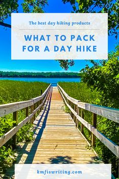 What to pack for a day hike: The best day-hiking products |