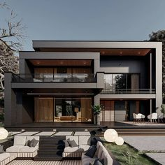 Amazing House Exterior Designs Modern Exterior House Designs, Modern House Facades, Modern Villa Design, Modern Architecture House, Modern House Plans, Architecture Design, Modern Bungalow House Design, Exterior Houses, Best Modern House Design