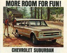 1968 Chevy Suburban