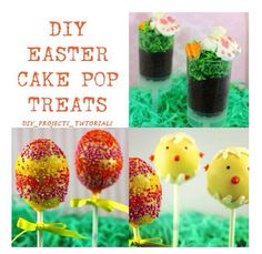 Which is better two cute diy christmas cake pops for you to try diy easter cake pops solutioingenieria Image collections