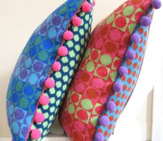Square Buttonbox Cushions from pabloblue.co.uk